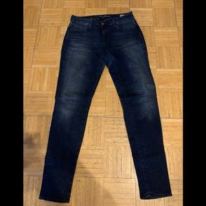 Rich Dark LONG Mavi jeans, US Size 31X34""